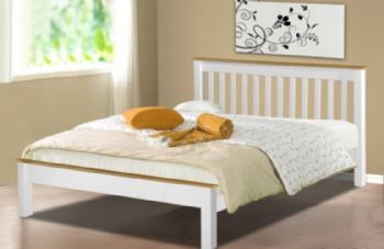 White Derby Bed